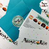 Gift Certificate - Amycakes Bakery