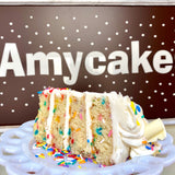 Confetti Amycake (Limited Quantities, Two days' notice required)