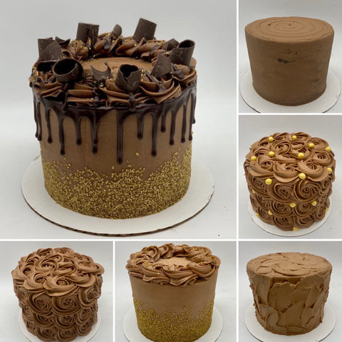 Golden Chocolate Cake (3 Days' notice required)