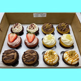 One Dozen Classics Cupcakes (limited quantities, pick up October 24th)