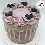 Fresh Blueberry Amycake (6-Seasonal) - Amycakes Bakery