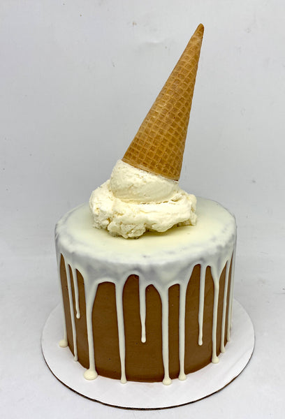Ice Cream Cone Cake (3 weeks' notice required)