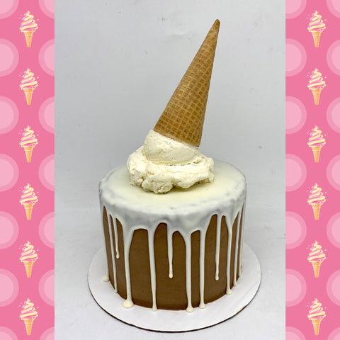 Ice Cream Cone Cake (4 weeks' notice required)