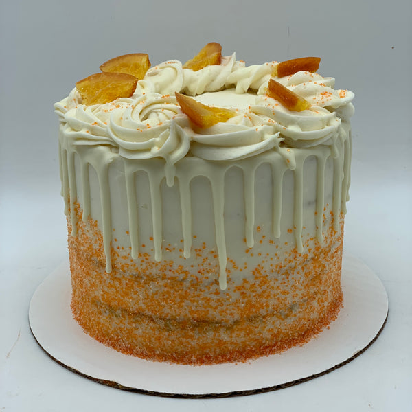 Orange Almond Amycake - Amycakes Bakery