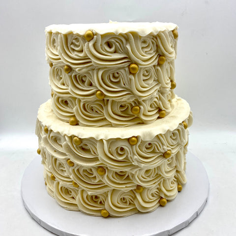 Classic Rosette Cake (Booked until 2021)