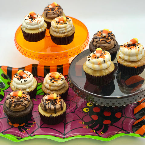 Halloween Variety Cupcakes (we pick the flavors)