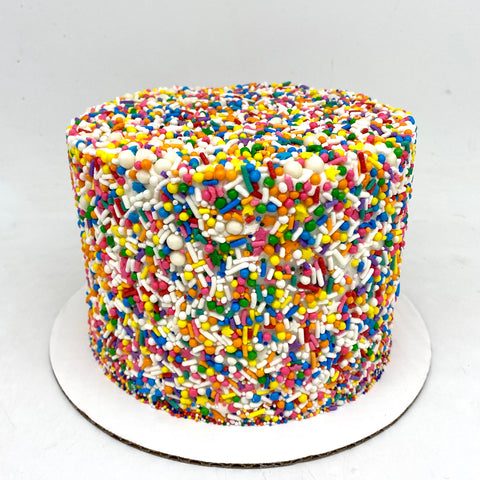 Classic Sprinkle Covered Cake (4 weeks' notice required)