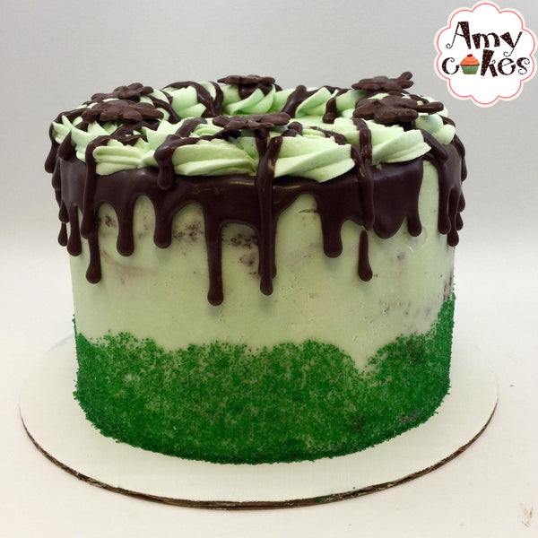 St. Patty's Mint Fudge Amycake