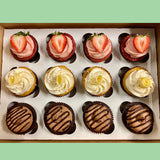 Neapolitan Cupcakes (24 hours notice required)