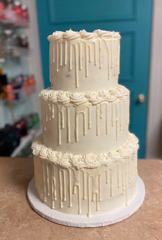Tiered Amycake--all one flavor (3 weeks' notice required)