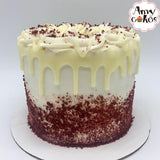 Red Velvet Almond Amycake (Limited Quantities, Pick Up October 15th)