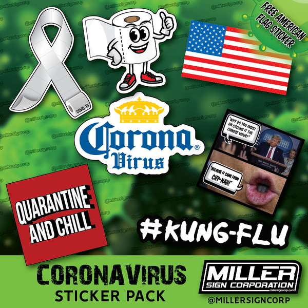CORONA VIRUS STICKER PACK