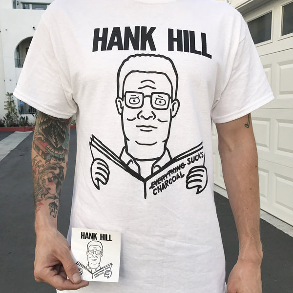 "Hank Hill x Descendents ""Charcoal Sucks!"" - Free sticker with every order!"