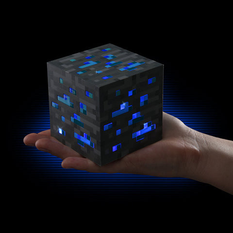 Minecraft Cubo Luminoso Varios Colores