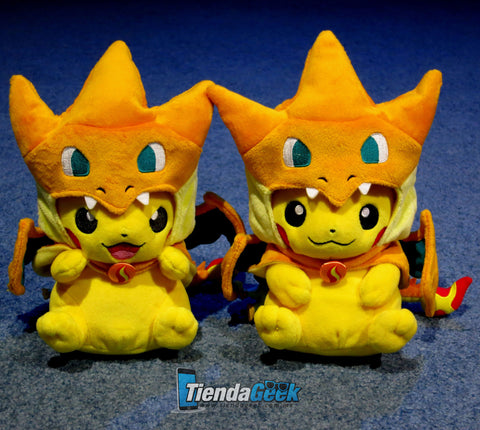 Pikachu Peluche Cosplay Charizard - Peluches - CellsPoint - 1