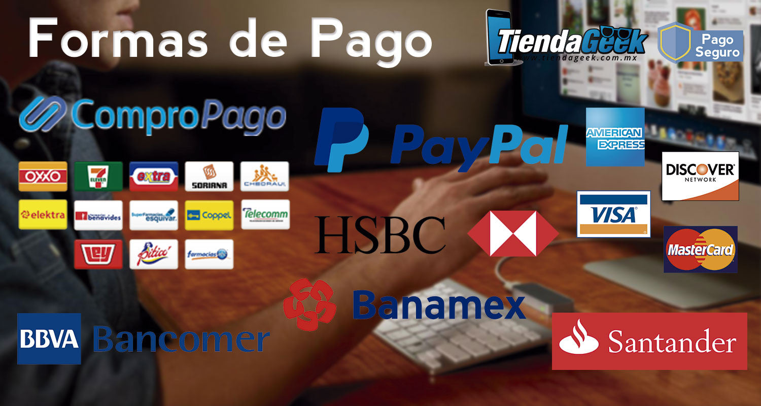 Formas de Pago Disponibles