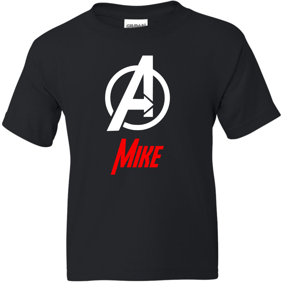 "TurnTo Designs - Avenger ""A"" Logo Vinyl with Custom Name Logo Number - SWALKERDESIGNS & TurnTo Designs"