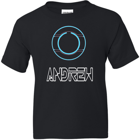 TurnTo Designs - TRON Shirt Vinyl with Custom Name Logo Number