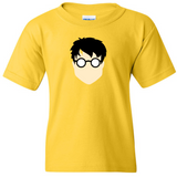 TurnTo Designs - HARRY POTTER Vinyl Yellow T-Shirt