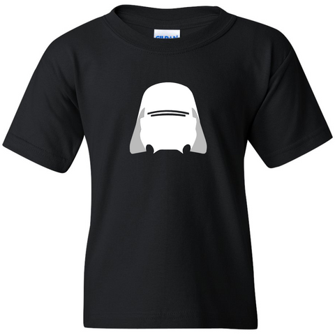TurnTo Designs - Stars Wars Force Awakens SNOW TROOPERS Vinyl Black T-Shirt