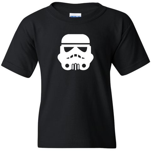 TurnTo Designs - Stars Wars STORM TROOPERS Vinyl Black T-Shirt