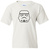 TurnTo Designs - Stars Wars STORM TROOPERS Vinyl White T-Shirt