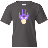 TurnTo Designs - Super Hero HAWKEYE Vinyl Gray T-Shirt