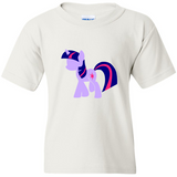 TurnTo Designs - My Little Pony TWILIGHT SPARKLE Vinyl White Shirt