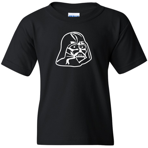 TurnTo Designs - Stars Wars DARTH VADER Vinyl Black T-Shirt