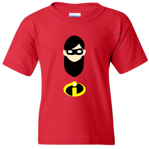 TurnTo Designs -  Violet Parr INCREDIBLES Red Shirt - SWALKERDESIGNS & TurnTo Designs