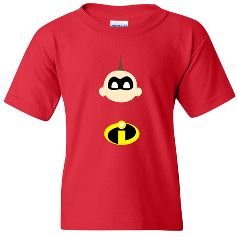 TurnTo Designs - Jack-Jack Parr INCREDIBLES Red Shirt