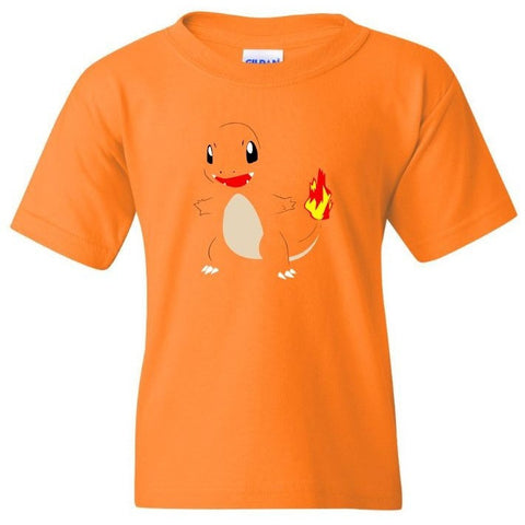 POKEMON CHARIZARD Orange  Shirt - TurnTo Designs - SWALKERDESIGNS & TurnTo Designs