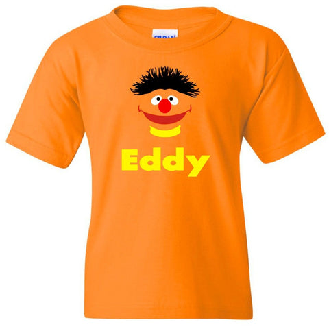 TurnTo Designs - Muppets ERNIE Vinyl with Custom Name Logo Number