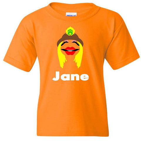 TurnTo Designs - Muppets JANICE Vinyl with Custom Name Logo Number