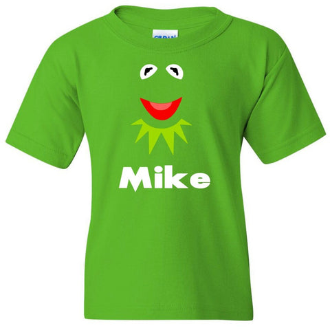 TurnTo Designs - Muppets KERMIT Vinyl with Custom Name Logo Number