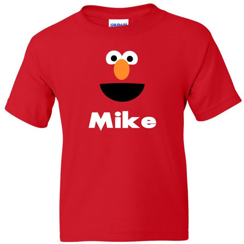 TurnTo Designs - Muppets ELMO Vinyl with Custom Name Logo Number