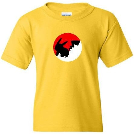 POKEMON BALL PIKACHU Yellow Shirt - TurnTo Designs - SWALKERDESIGNS & TurnTo Designs