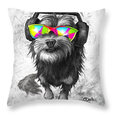 Dj Jasper - Throw Pillow
