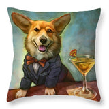 Jojo's Supertini - Throw Pillow