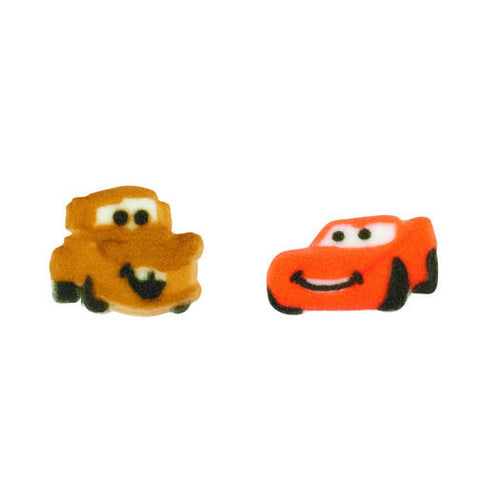 Cars Sugar Pieces - Cupcake Dazzle