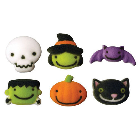 Frightful Friends Halloween Sugar Pieces - Cupcake Dazzle