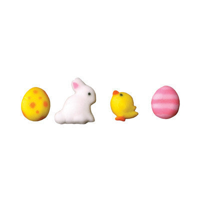 Easter Chick & Bunny Sugar Piece Assortment - Cupcake Dazzle