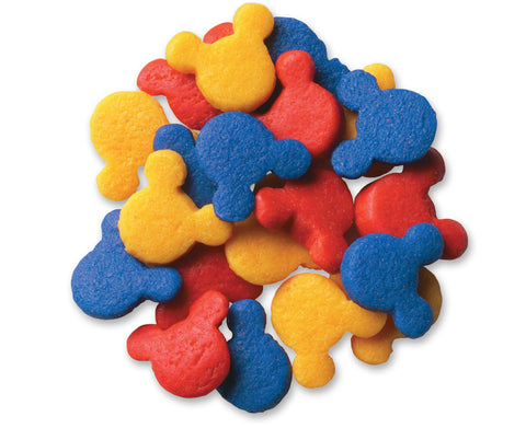 Primary Colored Mickey Mouse Sprinkle Quins