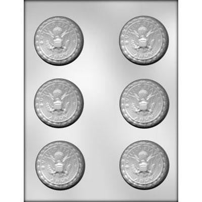Army Insignia Candy Mold - Cupcake Dazzle