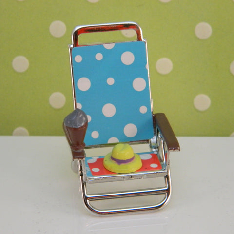 Beach Chair Topper - Cupcake Dazzle
