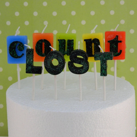 Lost Count Birthday Candles - Cupcake Dazzle