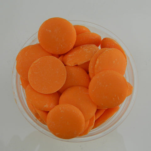 Merckens Orange Candy Coating - Cupcake Dazzle