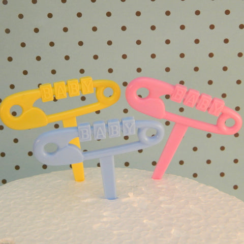 Clothes Pin Picks - Cupcake Dazzle