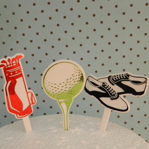 Golf Picks - Cupcake Dazzle