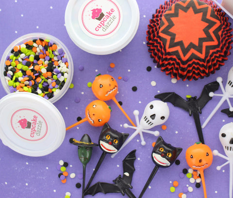 CD Exclusive Halloween Cupcake Kit - Cupcake Dazzle
